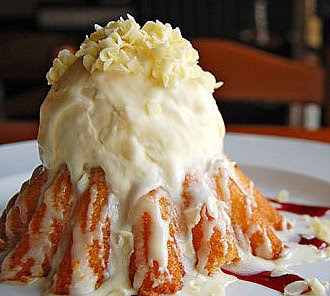 Chilis White Chocolate Molten Lava Cake Recipe
