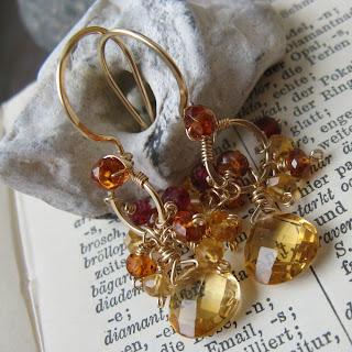 Autumn Gold Earrings