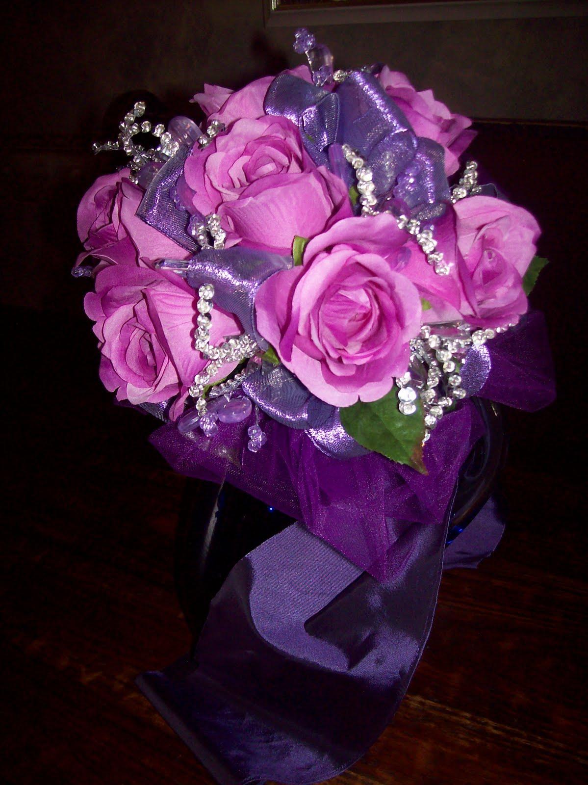 Delphinium wedding flowers blue bouquet  Rock My Wedding