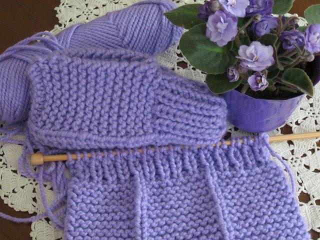 Chipmunknits Knitting Slippers