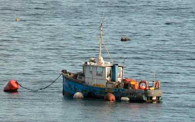 A Kilchoan Diary: Ships in the Sound - 2 - Fishing Boats A Dangerous Method Boat