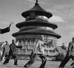 Praticantes de Tai Chi na China