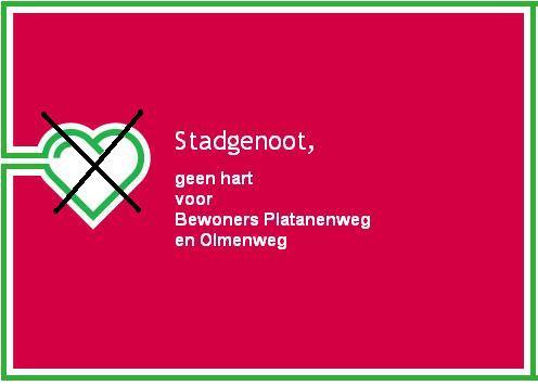 Bewonerscomité Platanenweg en Olmenweg