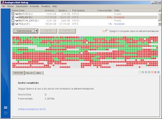 Auslogics Disk Defrag 3 immagine schermata principale