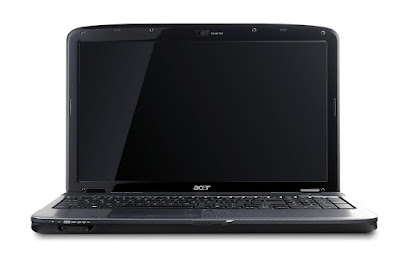 vista frontale notebook Acer 5738