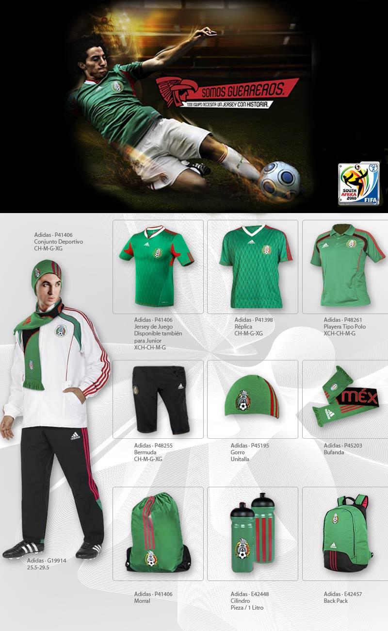 a94271cabf65d Productos oficiales de la selección mexicana