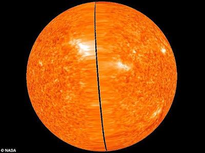 Inilah bentuk matahari yang sebenarnya