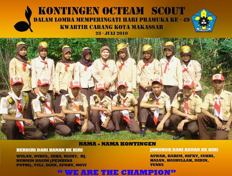 Kontingen Octeam Scout  (2010)