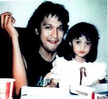 Bella Fawzi dan Ayahnya Ikang Fawzi