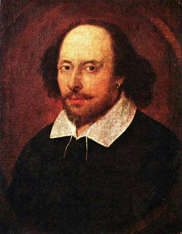 Shakespeare gibt uns in silbernen schalen goldene äpfel