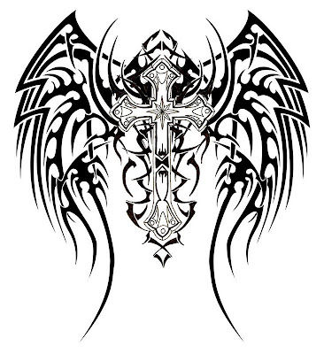 tribal tattoos pictures. Tribal Tattoo Wings.