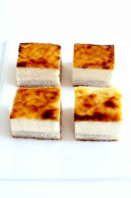 quadrotti cheesecake pompelmo