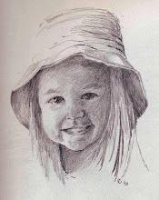 Sun hat girl