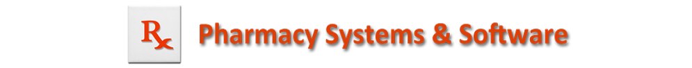 Pharmacy Systems Software