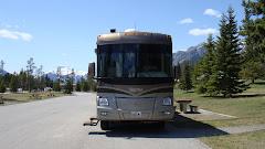 Parked at Banff Provincial Park, Alberta
