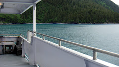View From Ferry to Valdez