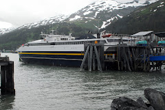 The Ferry After Arriving at Whittier