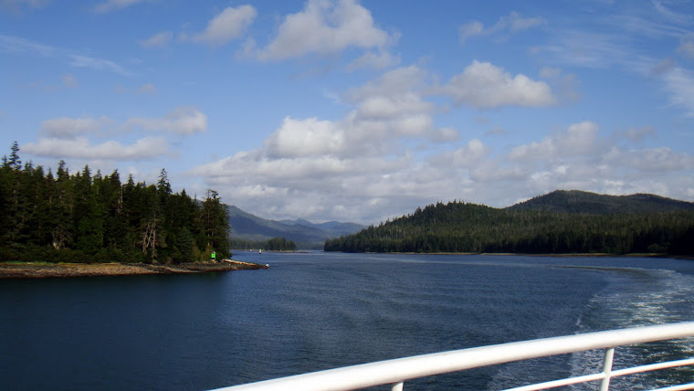 Ferry Trip From Petersburg to Kechikan (going through the Wrangell Narrows)