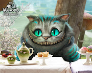 Want to become the Cheshire Cat from Tim Burton Alice in Wonderland film?