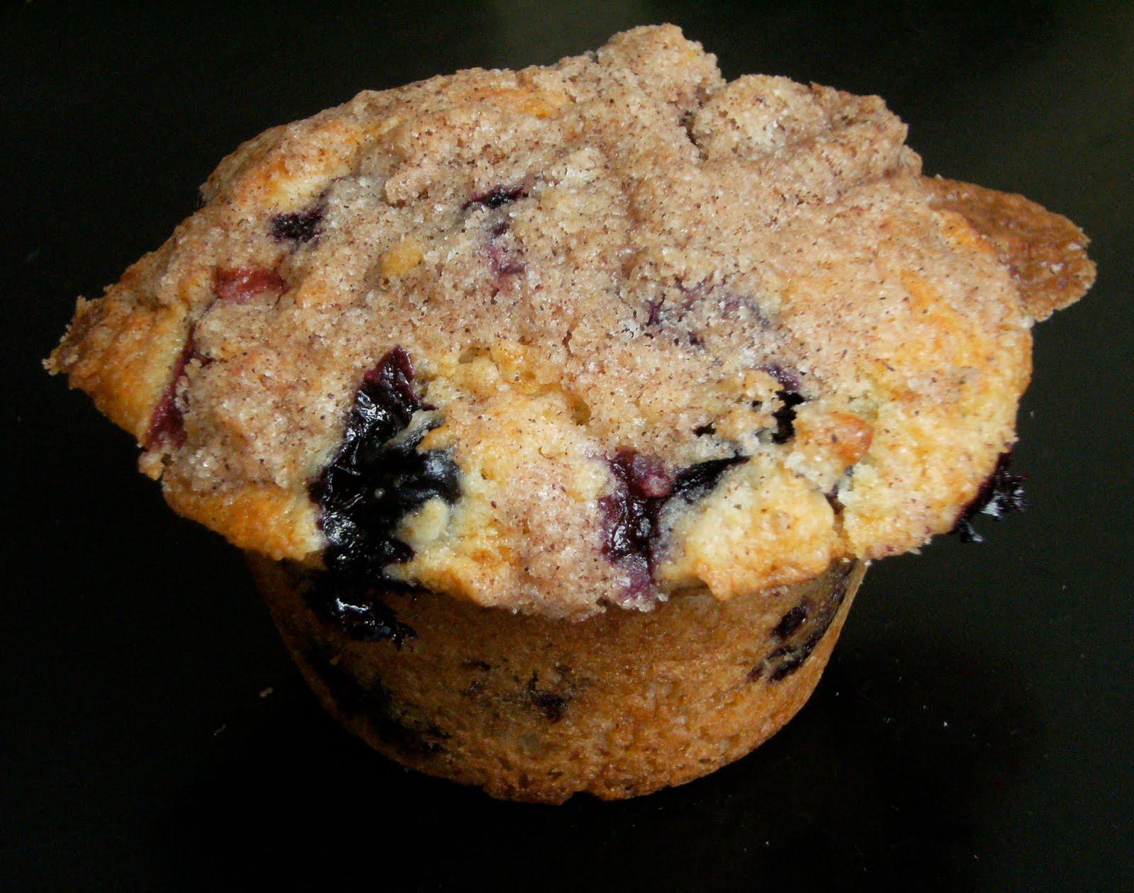 My Retro Kitchen: To Die For Blueberry Muffins