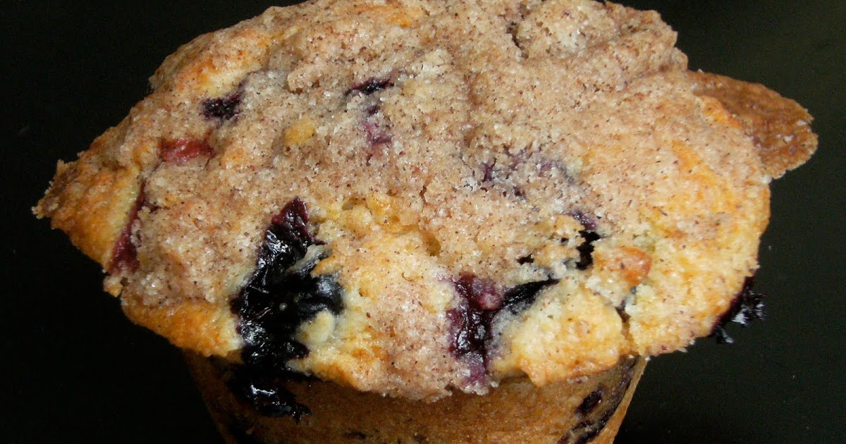 My Retro Kitchen: To Die For Blueberry Muffins