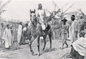 Samory arriva in un villaggio