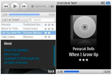 iTunes Symbian