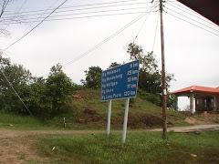 Simpang dari Pekan Sipitang ke Longpasia