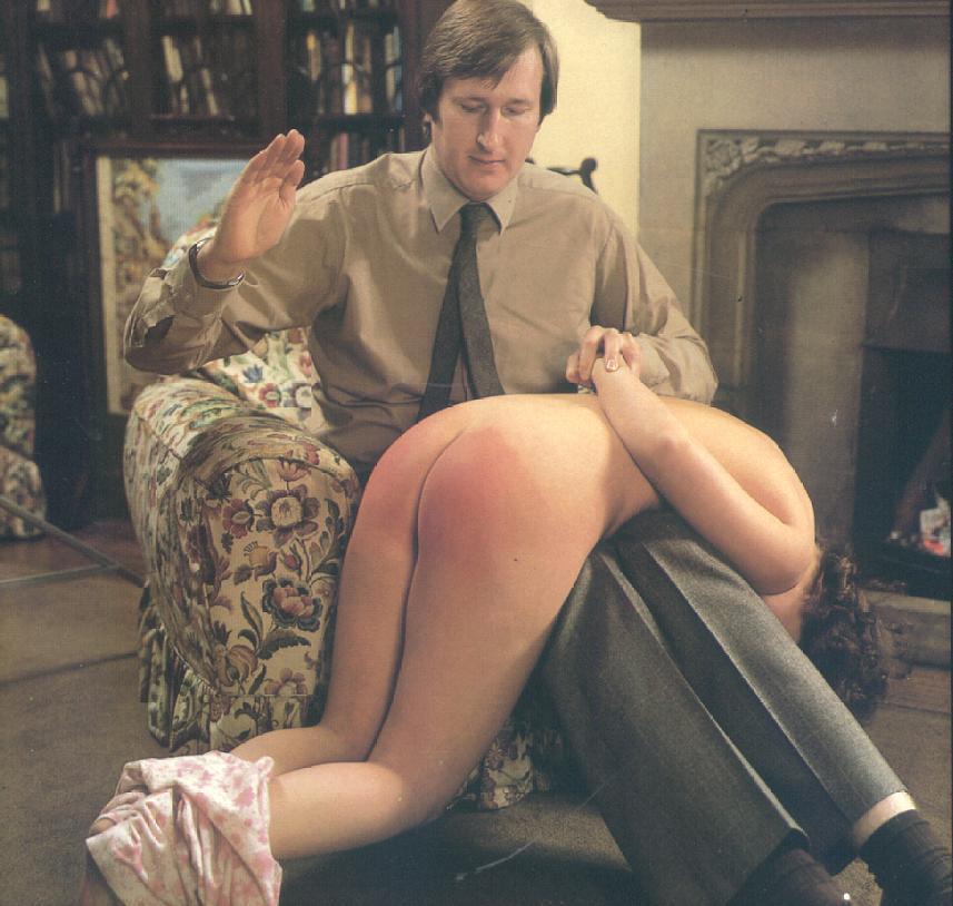 Bondage companion spanking