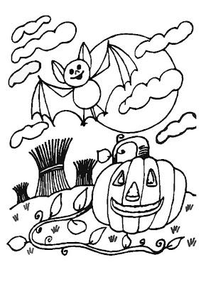 Printable halloween coloring pages Kids Printable
