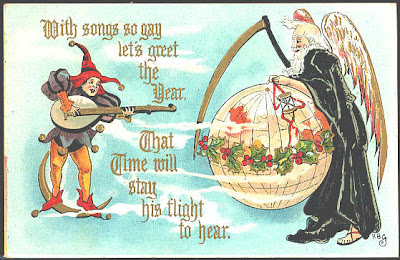 New Years Vintage Postcards