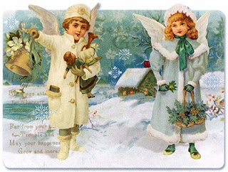 Victorian New Year postcards