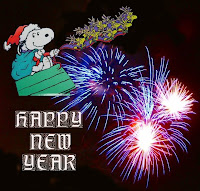 Snoopy New Year Wishes