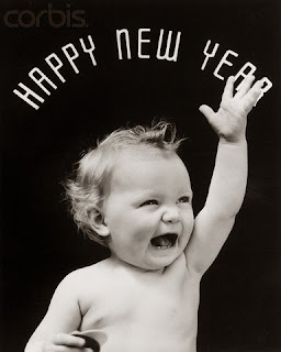 happy new year baby wishes