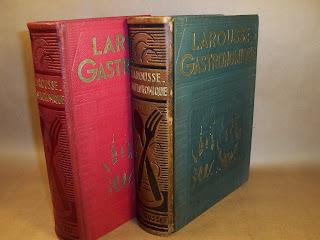 A table !! La première édition du Larousse gastronomique de Prosper MONTAGNE. dans Bibliophilie, imprimés anciens, incunables larousse%2B1938%2B001