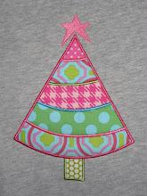 Girl Christmas Tree