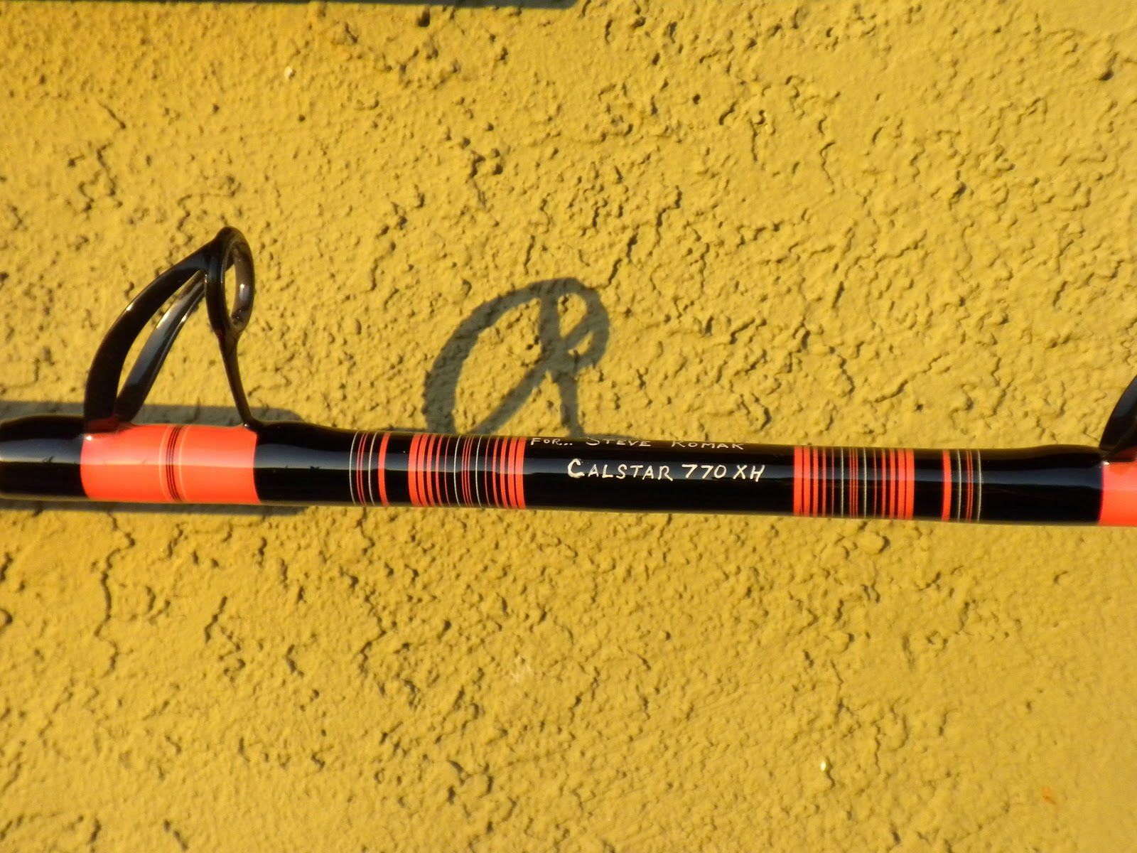Jb fishing custom calstar rods for Personalized fishing rods