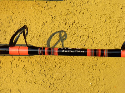 Jb fishing custom calstar rods for Calstar fishing rods