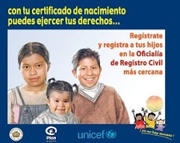 derecho a ser inscrito en el registro civil