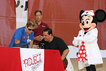 Minnie Mouse at Project Pressure Kick-off Event