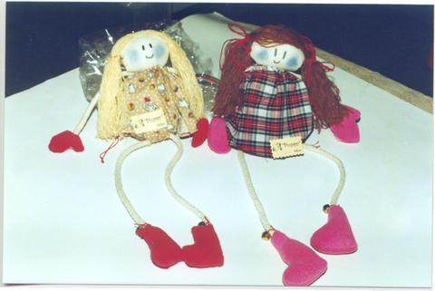 Muñecas patitas largas
