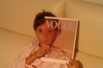 Vogue Magazine Cover Illusion