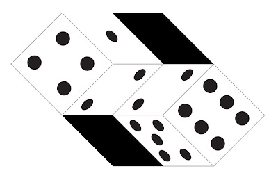 Twisted Dice Illusion