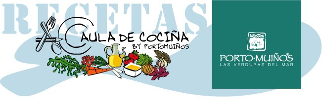 Aula de cocina Porto Muiños-Recetas