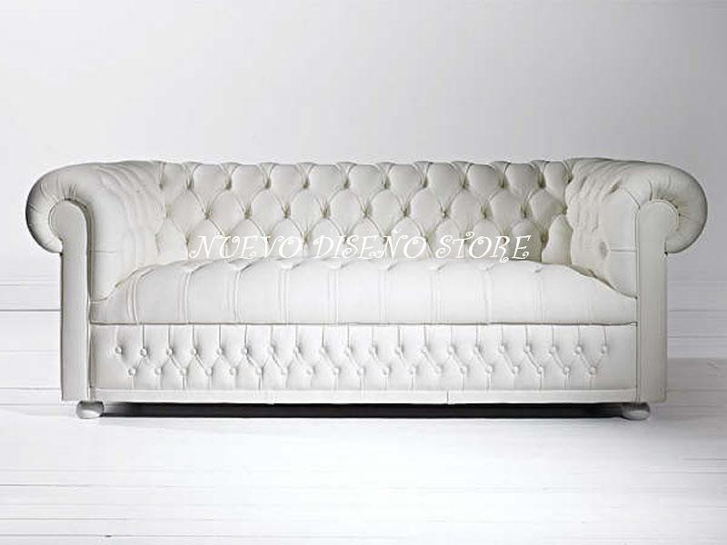 Sofa chester sillon chesterfield a medida calidad for Sillon chesterfield cuero