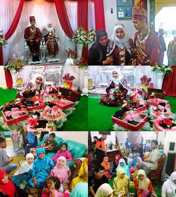 Suasana Kenduri Di Wedding Helena..