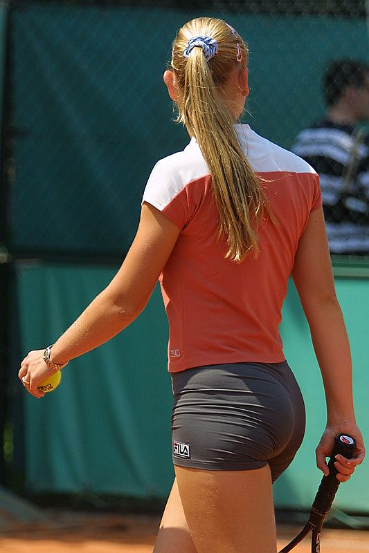 sexy female players Hot tennis