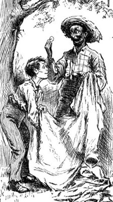 a comparison of catcher in the rye and the adventures of huckleberry finn To remember j d salinger is, of course, to remember the catcher in the   laugh aloud, and many immediately compared holden to huck finn  works  like moby-dick and the adventures of huckleberry finn were cast as.