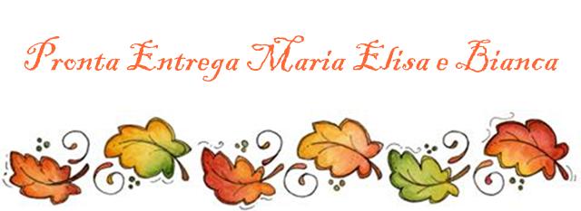 Pronta Entrega Maria Elisa e Bianca