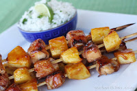 Bacon-Wrapped Teriyaki Chicken Skewers